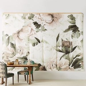 Anthropologie Anewall Blush Bouquet Mural
